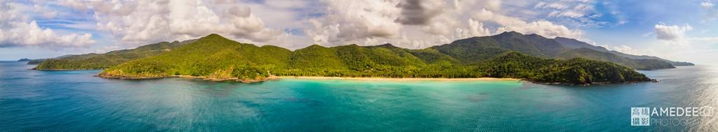 菲律賓巴拉望旅遊全景空拍攝影